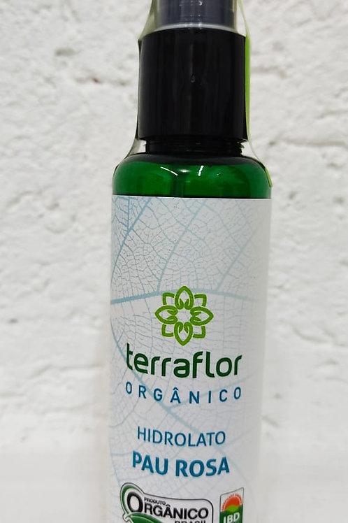 Hidrolato Orgânico de Pau Rosa (água floral) terra-flor