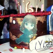 Gâteau Anniversaire Enfant Harry Potter.