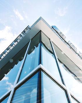 Bâtiment moderne Bureau