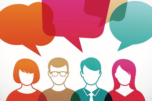 Conversation Club in Francese, Tedesco, Spagnolo, Latino