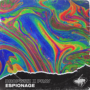 DROPWIZZ x PRAV - ESPIONAGE ALBUM ART.jp