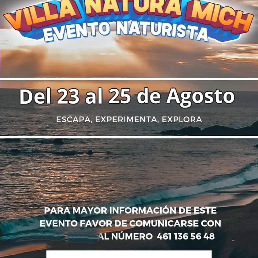 Evento Naturista en Villa Natura, Michoacán