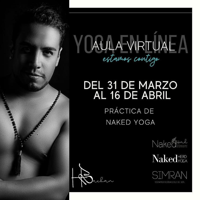 Practica de Naked Yoga Virtual