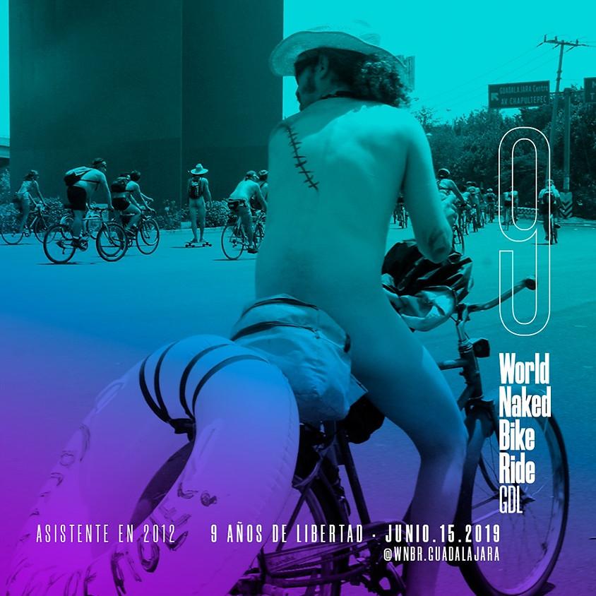World Naked Bike Ride Guadalajara