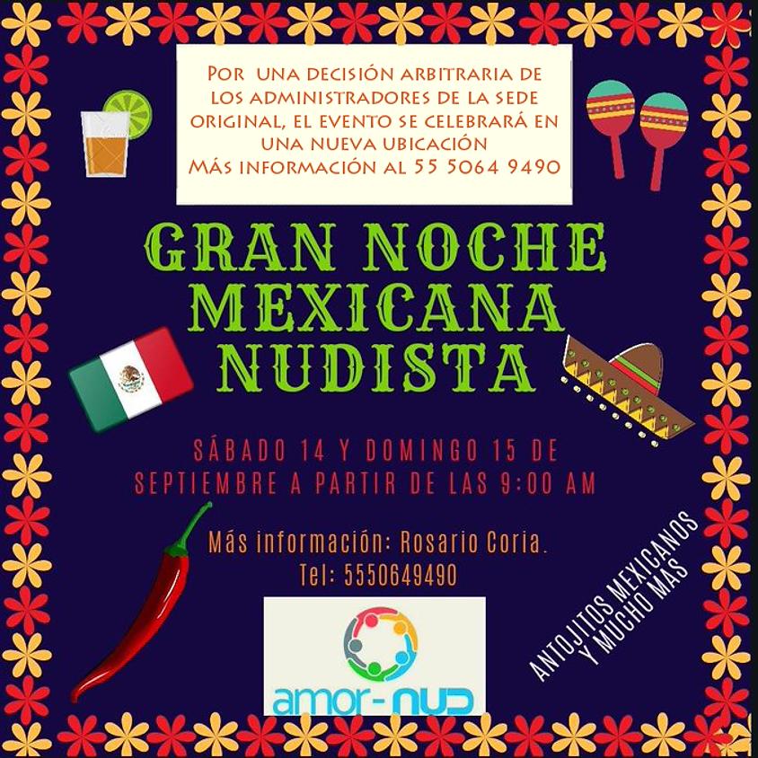 Gran Noche Mexicana Nudista