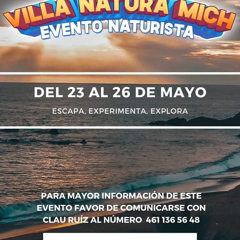 Reunión nudista en VillaNatura (Michoacán)