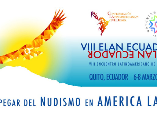 ¡Te invitamos al 8vo Encuentro Latinoamericano de Nudismo (ELAN VIII)!
