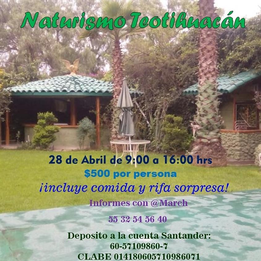 Albercada Naturismo Teotihuacán