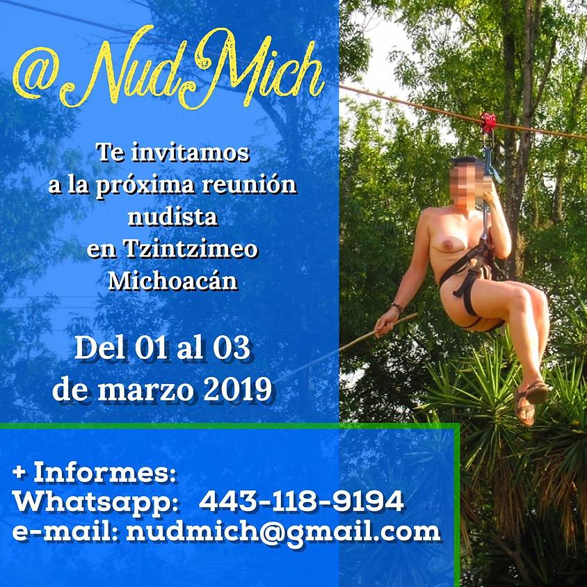 Reunión Nudista en Tzintzimeo