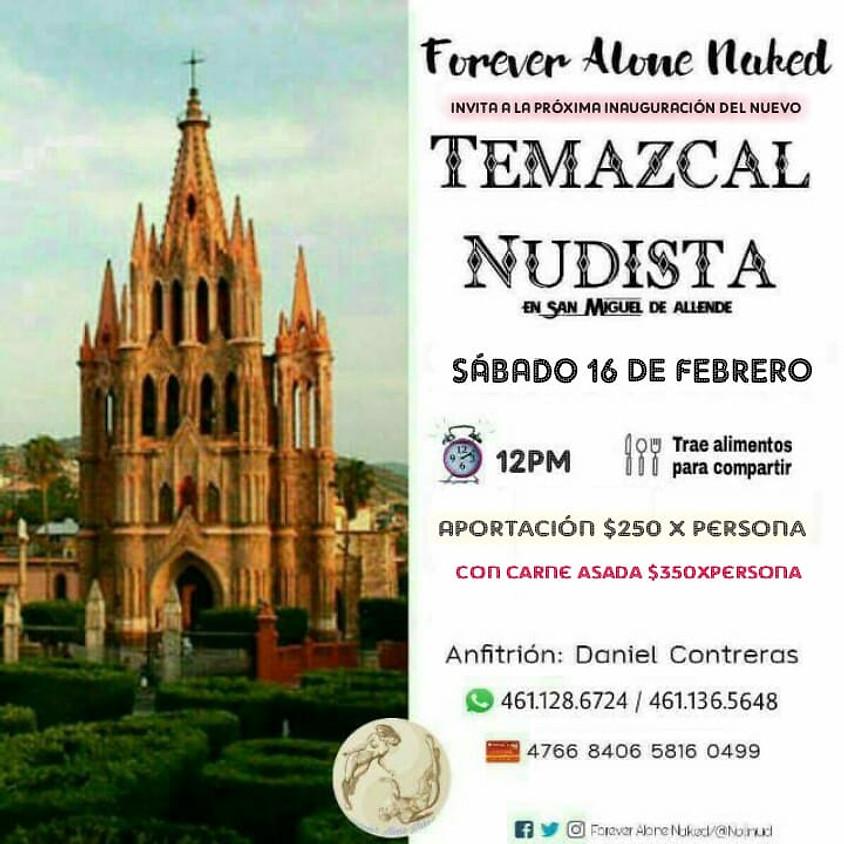 Temazcal Nudista en San Miguel de Allende