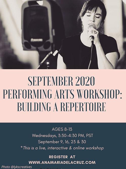 September 2020 Workshop