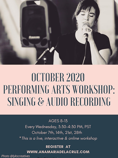 October 2020 Workshop