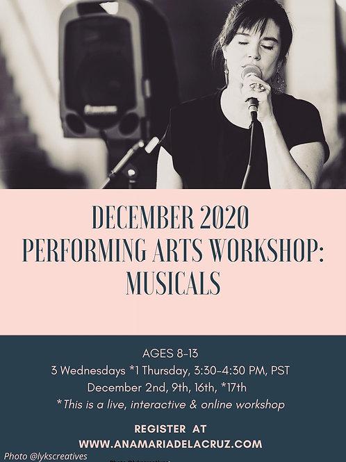 December 2020 Workshop