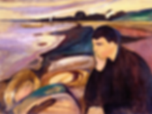 Melancholie - Edvard Munch