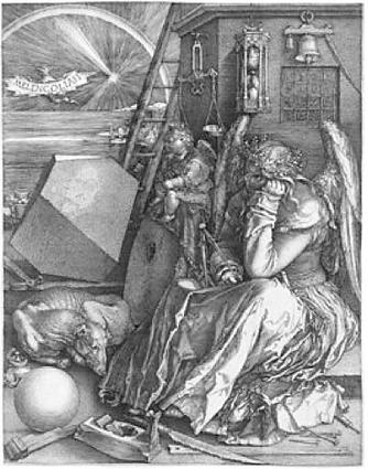Melancolia 1 - Albrecht Dürer