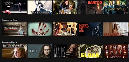 Horrorfilms op Netflix