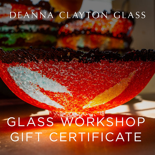 2 Person Glass Night Workshop