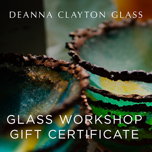 1 Person Glass Night Workshop