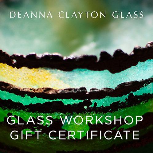 4 Person Glass Night Workshop