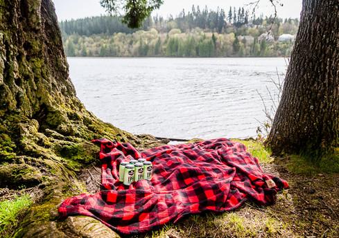 BridgePort Hazy IPA Blanket Lacamas Lake
