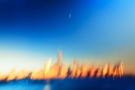 Waning Moon Blush City