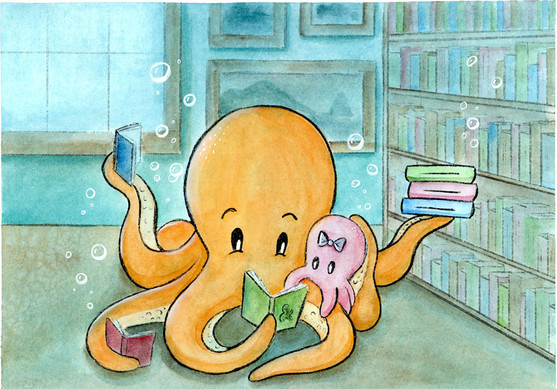 Reading Together Under the Sea
