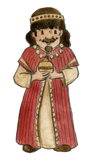 Wiseman With Myrrh