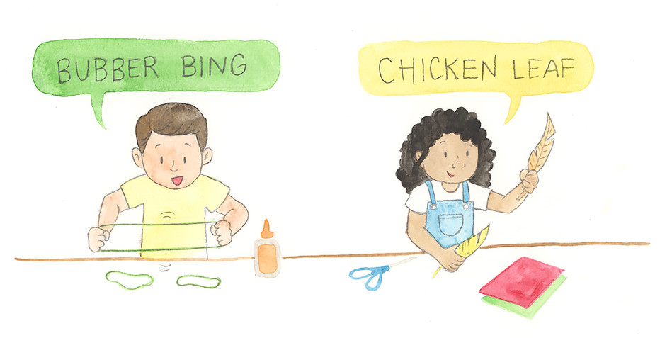 Bubber Bing and Chicken Leaf