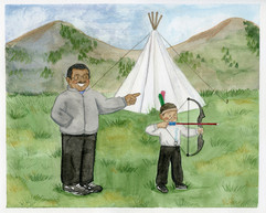 Tee Pee Campout