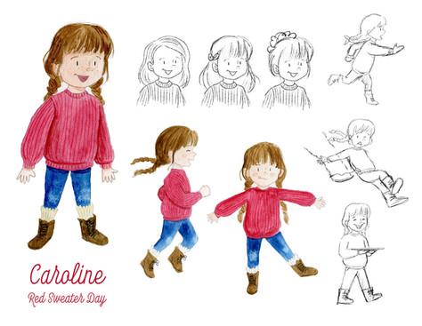Caroline Character Sheet