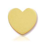 14k Yellow Heart