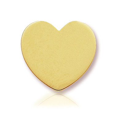 14k Yellow Heart