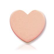 14k Rose Heart