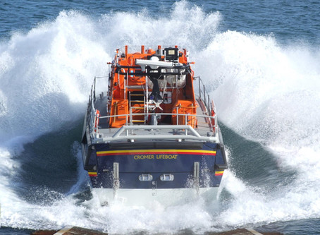 RNLI Cromer holds induction during lockdown.