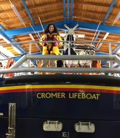 Four RNLI Cromer crew members pass important assessments during Covid 19 lockdown