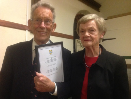 RNLI Lifelong supporters receive Cromer Town Award