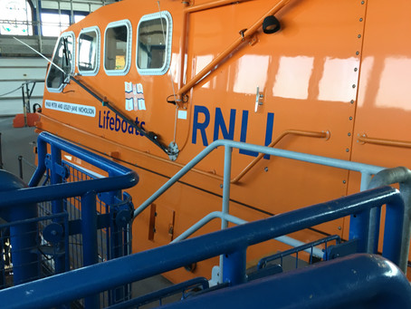 Cromer Lifeboat is spending some time away from its hometown - undergoing routine repairs.
