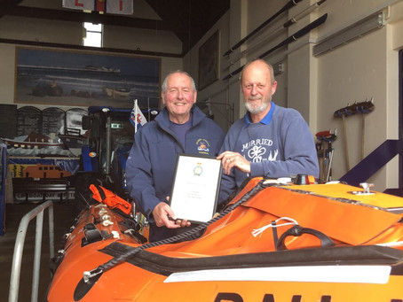Richard Leeds has stepped back from role as Lifeboat Operations Manager