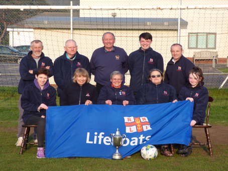 The Team Behind Cromer Lifeboat Football Cup