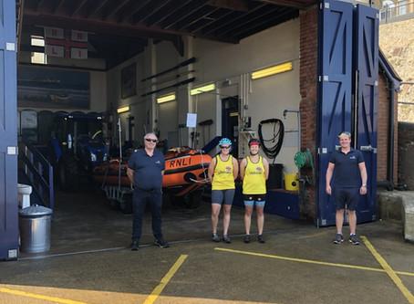 The Laden Lifeboat Lasses raise money for RNLI