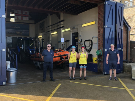 The Laden Lifeboat Lasses raise money for RNLI