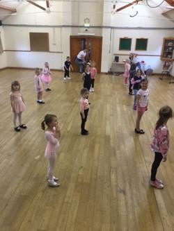 Live & Lets Dance - Rehersals