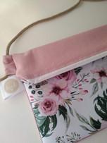 Púder rózsa táska