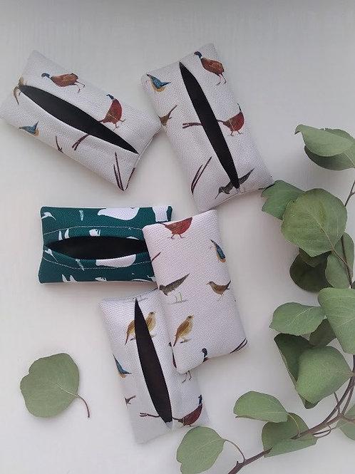 Madarak zsepkendőtartó