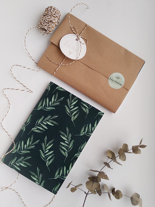 Oliva füzet/ forest zöld