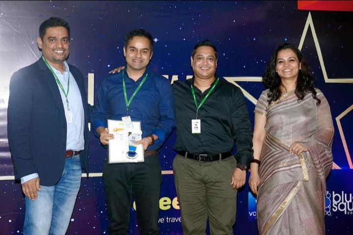 Apurv Singh - Awarded as Marketer of the