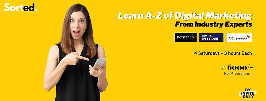 Copy of Learn A-Z of Digital Marketing F