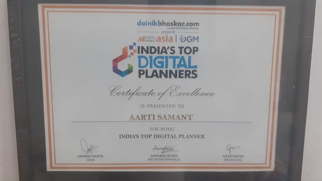 Aarti Samant - India's Top Digital Planners