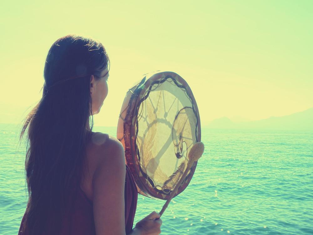 yoga du son, île de Porquerolles