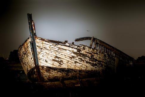 Maldon Barge Graveyard
